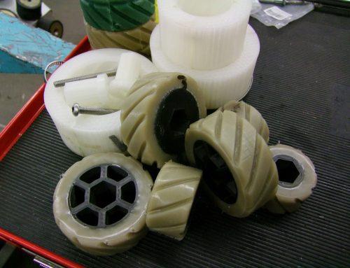 Mehr Bodenhaftung mit Markforged: 3D-gedruckte Räder umspritzen