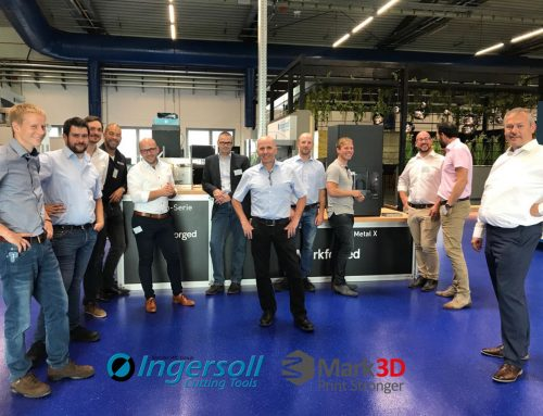 Neuer Markforged Showroom bei Ingersoll Cutting Tools in Haiger