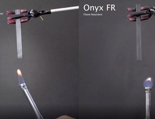 Onyx FR: Material mit selbstverlöschenden Eigenschaften