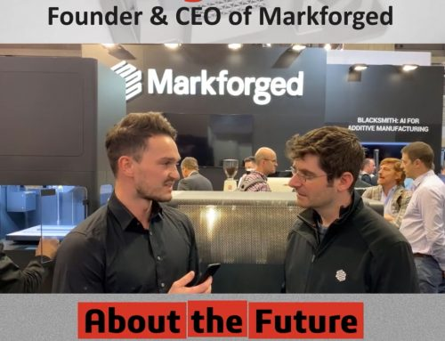Greg Mark über die Zukunft der Markforged Produkte