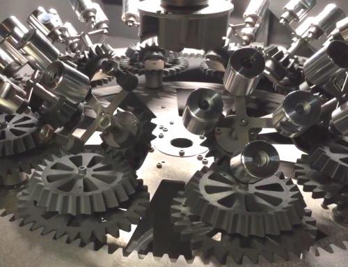 BMF GmbH – 3D gedruckte Zahnräder in einer Sandstrahl-Anlage