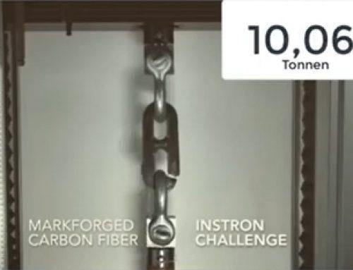Carbon nutzen wie ein Klötzchen Aluminium!
