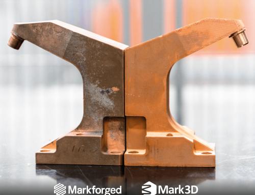 3D gedruckte Schweißelektrode aus Kupfer