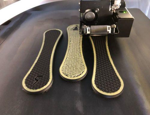 Verstärkung von 3D-gedruckten Teilen mit effizienter Faserverlegung