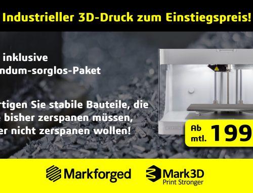 Industrieller 3D-Druck zum Einstiegspreis