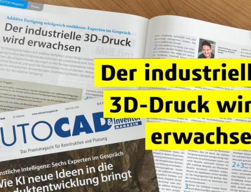 Industrieller 3D-Druck mehr als nur Prototyping?