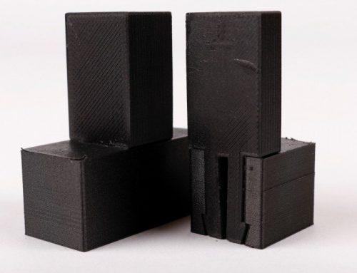 Simple Montage mit cleveren Verbindungen aus Onyx in 3D gedruckt