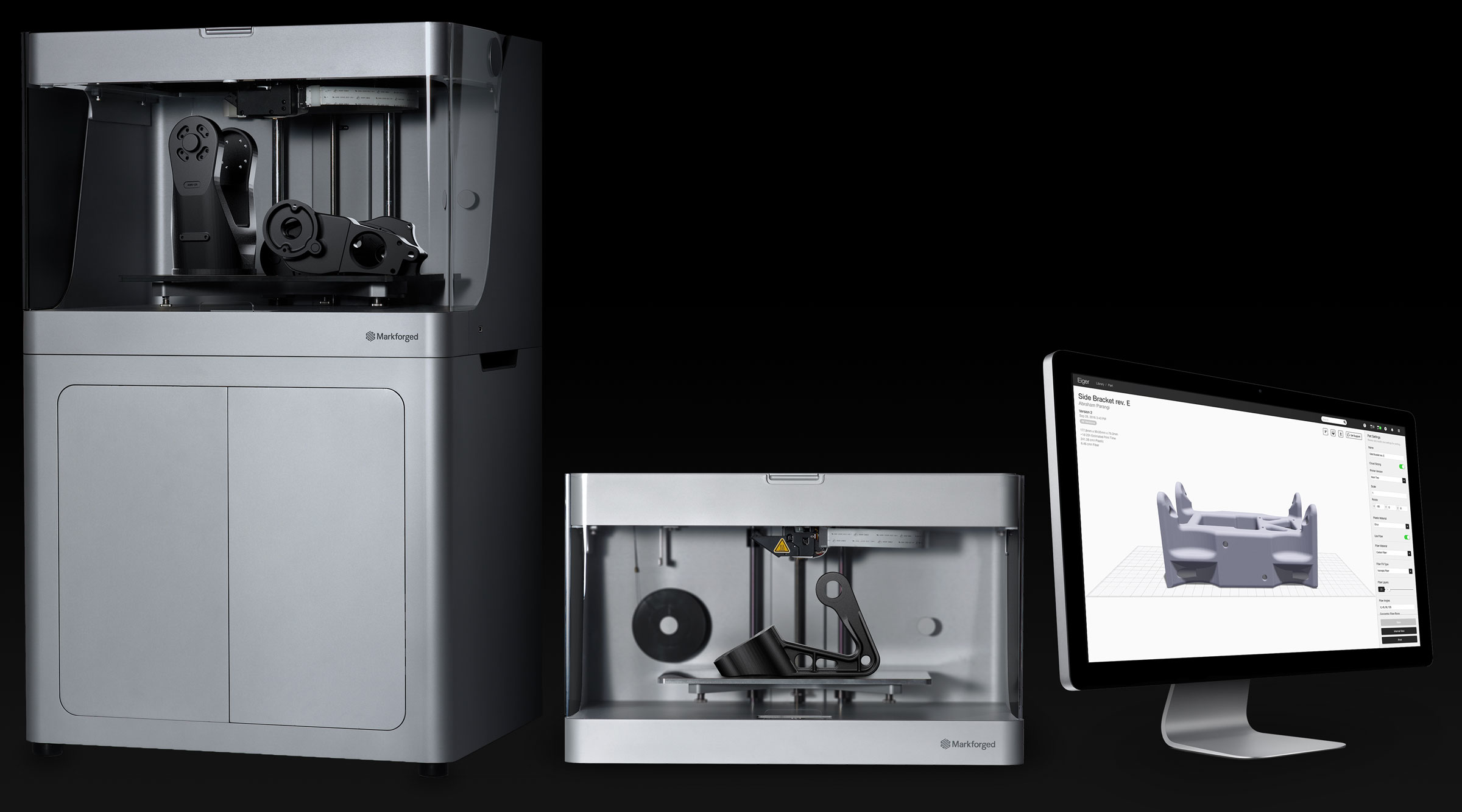 Markforged 3D printers and software