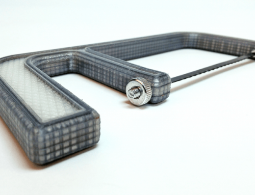How to reinforce a 3D printed saw using Carbon Fibre