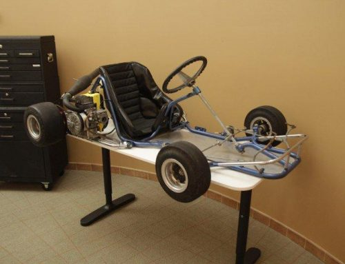3D Printed Spare Parts for a Go Kart