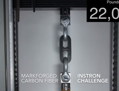 Carbon Fibre delivers high strength for industrial parts