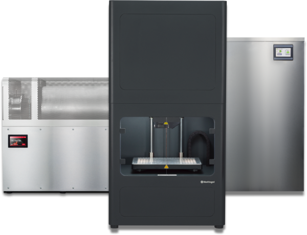 A Picture of a metal x Markforged printer.