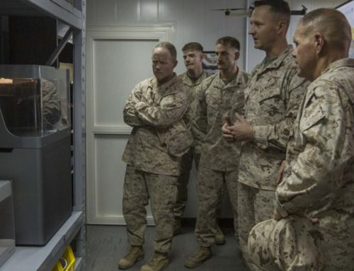 The military uses 3D printers in the field