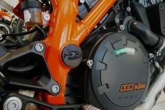 mark two bauteil orange eingefärbt