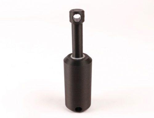 3D gedruckter Stoßdämpfer mit neuem Onyx Druckmaterial